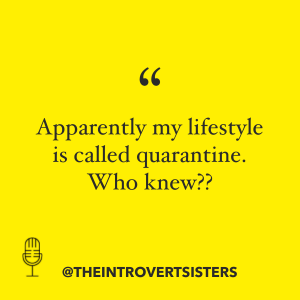 quarantine lifestyle quote