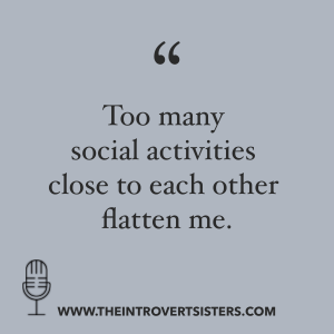 Introvert Sisters episode a quote 1