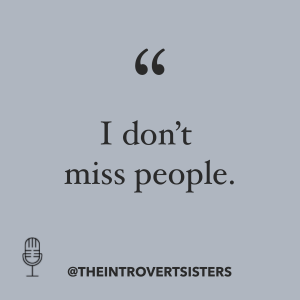 I dont miss people quote
