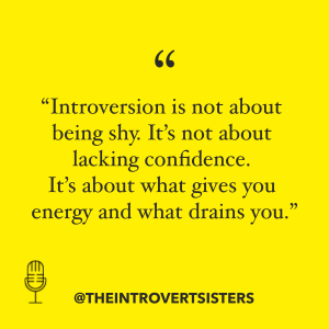 introversion not about shyness