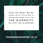 introvert sisters diversity quote