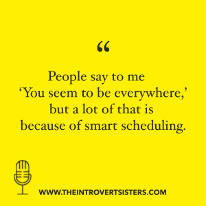 smart scheduling quote tis ep 14