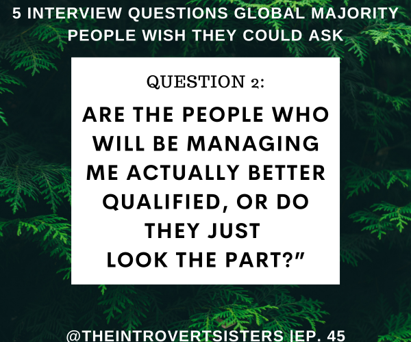 5 Interview Questions Global Majority People Wish They Could Ask | TIS Ep. 45